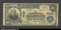National Bank Notes:Kentucky, Morganfield, KY - $10 1902 Plain Back Fr. 624 ...