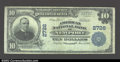 National Bank Notes:Kentucky, Newport, KY - $10 1902 Plain Back Fr. 632 The American ...