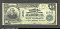 National Bank Notes:Kentucky, Paducah, KY - $10 1902 Plain Back Fr. 635 Peoples ...
