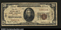 National Bank Notes:Maryland, Port Deposit, MD - $20 1929 Ty. 1 The Cecil NB Ch. # ...