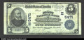 National Bank Notes:Maryland, Upper Marlboro, MD- $5 1902 Plain Back Fr. 607 The First ...