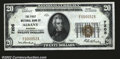 National Bank Notes:Missouri, Albany, MO- $20 1929 Ty. 1 The First NB Ch. # 7205