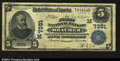 National Bank Notes:Missouri, Braymer, MO - $5 1902 Plain Back Fr. 598 The First NB ...