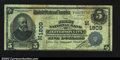 National Bank Notes:Missouri, Jefferson City, MO - $5 1902 Plain Back Fr. 601 The ...