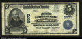 National Bank Notes:Missouri, Monett, MO- $5 1902 Plain Back Fr. 608 The First NB Ch....