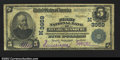 National Bank Notes:Missouri, Nevada, MO - $5 1902 Plain Back Fr. 600 The First NB ...
