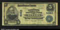 National Bank Notes:Missouri, Nevada, MO - $5 1902 Plain Back Fr. 600 The Thornton NB...
