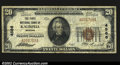 National Bank Notes:Montana, Kalispell, MT- $20 1929 Ty. 1 The First NB Ch. # 4586...