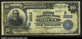 National Bank Notes:Pennsylvania, Bruin, PA- $10 1902 Plain Back Fr. 626 The First NB Ch....