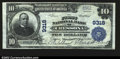 National Bank Notes:Pennsylvania, Cressona, PA- $10 1902 Plain Back Fr. 626 The First NB ...