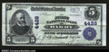 National Bank Notes:Pennsylvania, Darby, PA- $5 1902 Plain Back Fr. 601 The First NB Ch. ...