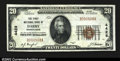 National Bank Notes:Pennsylvania, Darby, PA- $20 1929 Ty. 1 The First NB Ch. # 4428...