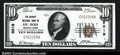 National Bank Notes:Pennsylvania, DuBois, PA- $10 1929 Ty. 1 The Deposit NB Ch. # 5019...