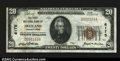 National Bank Notes:Pennsylvania, Freeland, PA- $20 1929 Ty. 1 The First NB Ch. # 6175...