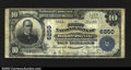 National Bank Notes:Pennsylvania, Hooversville, PA- $10 1902 Plain Back Fr. 634 The First ...