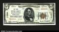 National Bank Notes:Pennsylvania, Mapleton, PA- $5 1929 Ty. 2 The First NB Ch. # 11244...