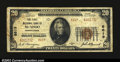 National Bank Notes:Pennsylvania, McAdoo, PA- $20 1929 Ty. 2 The First NB Ch. # 8619