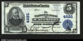 National Bank Notes:Pennsylvania, McKeesport, PA- $5 1902 Plain Back Fr. 602 The NB of ...