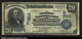 National Bank Notes:Pennsylvania, Millheim, PA- $20 1902 Date Back Fr. 644 The Farmers NB...