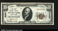 National Bank Notes:Pennsylvania, Mount Holly Springs, PA- $10 1929 Ty. 1 The First NB ...