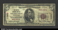 National Bank Notes:Pennsylvania, Osceola Mills, PA - $5 1929 Ty. 1 The Peoples NB Ch. # ...