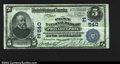 National Bank Notes:Pennsylvania, Philadelphia, PA- $5 1902 Date Back Fr. 590 The Penn NB...