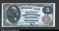 National Bank Notes:Pennsylvania, Philadelphia, PA- $5 1882 Brown Back Fr. 469 The Market ...