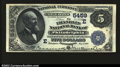 National Bank Notes:Pennsylvania, Philadelphia, PA- $5 1882 Date Back Fr. 537 The Franklin ...