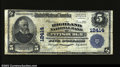National Bank Notes:Pennsylvania, Pittsburgh, PA- $5 1902 Plain Back Fr. 609 The Highland ...
