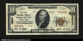 National Bank Notes:Pennsylvania, Riegelsville, PA - $10 1929 Ty. 2 The First NB Ch. # ...