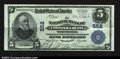 National Bank Notes:Pennsylvania, West Chester, PA- $5 1902 Plain Back Fr. 598 The NB of ...
