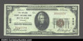 National Bank Notes:Vermont, Rutland, VT- $20 1929 Ty. 1 The Rutland County NB Ch. #...