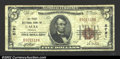 National Bank Notes:Virginia, Galax, VA- $5 1929 Ty. 1 The First NB Ch. # 8791