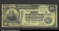 National Bank Notes:Virginia, Radford, VA- $10 1902 Plain Back Fr. 624 The First NB ...
