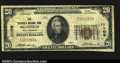 National Bank Notes:West Virginia, Bluefield, WV- $20 1929 Ty. 1 The Bluefield NB Ch. # ...