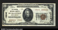 National Bank Notes:West Virginia, Buckhannon, WV - $20 1929 Ty. 2 The Central NB Ch. # ...