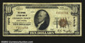 National Bank Notes:West Virginia, Charles Town, WV- $10 1929 Ty. 1 The National Citizens ...