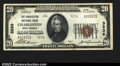 National Bank Notes:West Virginia, Charleston, WV- $20 1929 Ty. 1 The Charleston NB Ch. # ...