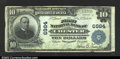 National Bank Notes:West Virginia, Chester, WV- $10 1902 Plain Back Fr. 624 The First NB ...