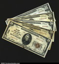National Bank Notes:West Virginia, Clarksburg, WV- $10 Ty. 2, $20 Ty. 1 The Empire NB Ch. ...