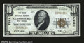 National Bank Notes:West Virginia, Clarksburg, WV- $10 1929 Ty. 1 The Union NB Ch. # 7681...