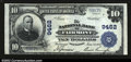 National Bank Notes:West Virginia, Fairmont, WV- $10 1902 Plain Back Fr. 626 The NB of ...