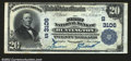 National Bank Notes:West Virginia, Huntington, WV- $20 1902 Plain Back Fr. 650 The First NB...