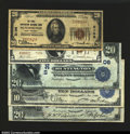 National Bank Notes:West Virginia, A Nice group of Huntington Notes, including: