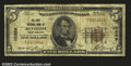 National Bank Notes:West Virginia, Keystone, WV- $5 1929 Ty. 1 The First NB Ch. # 10369...