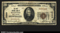 National Bank Notes:West Virginia, Keystone, WV- $20 1929 Ty. 1 The First NB Ch. # 10369...
