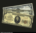 National Bank Notes:West Virginia, Martinsburg, WV- $5 1929 Ty. 2 The Citizens NB Ch. # ...