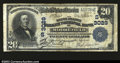National Bank Notes:West Virginia, Moorefield, WV- $20 1902 Plain back Fr. 650 The South ...