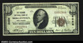National Bank Notes:West Virginia, Morgantown- $10 1929 Ty. 1 The Second NB Ch. # 2458...