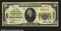 National Bank Notes:West Virginia, Northfork, WV- $20 1929 Ty. 1 The First NB Ch. # 8309...